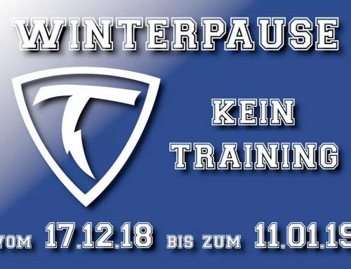 Winterpause!