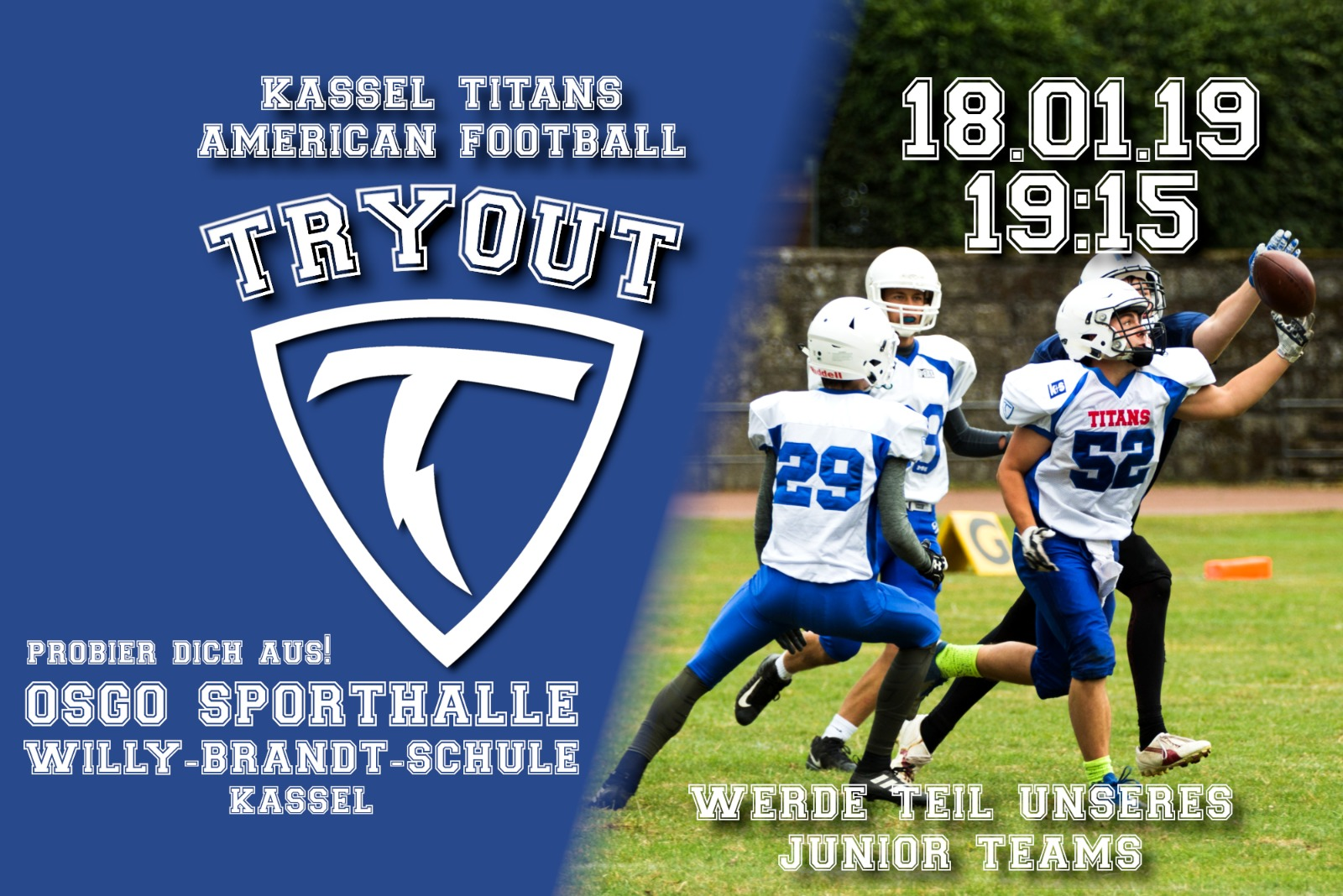 TRYOUT American Football