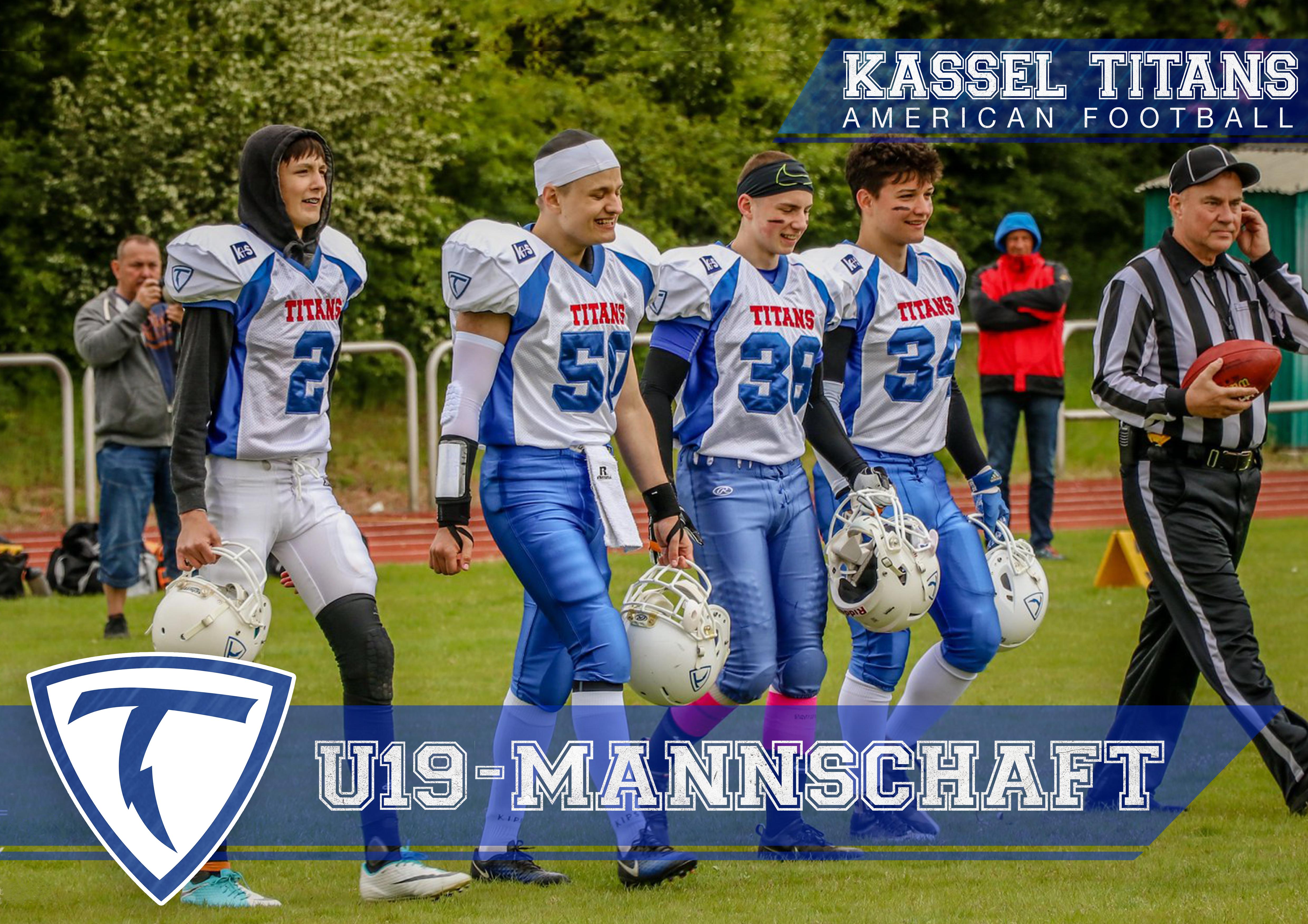 Sieg Kassel Titans U19 42:00 Bürstadt Redskins (Spielbericht)