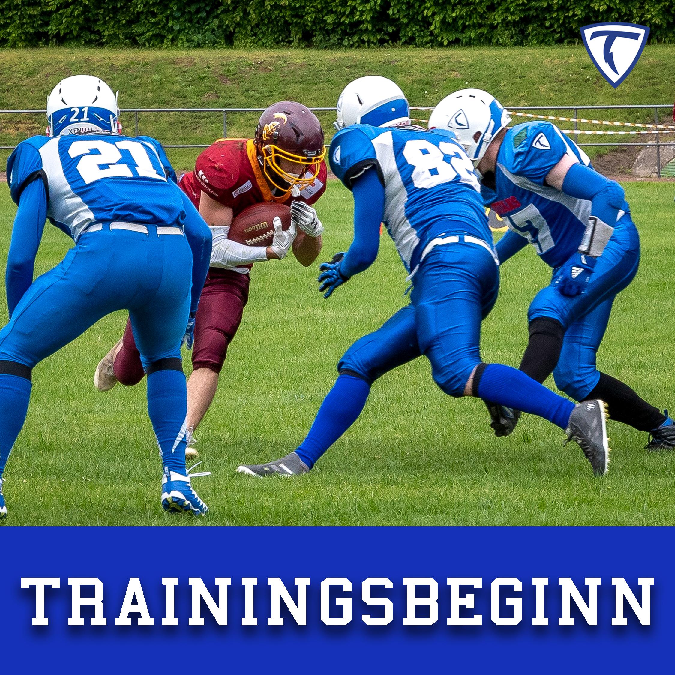 Unser Training geht endlich weiter!