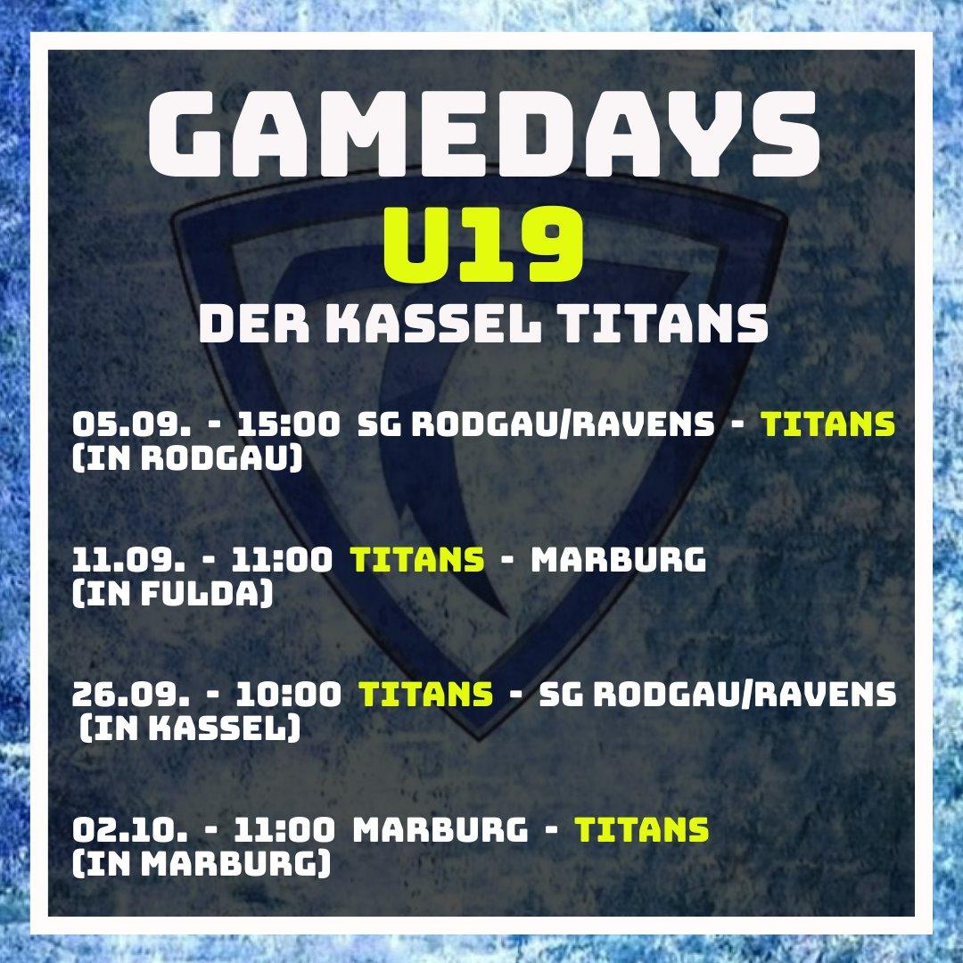 Gamedays der Titans U19